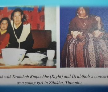 khandro with Duptho RInpoche